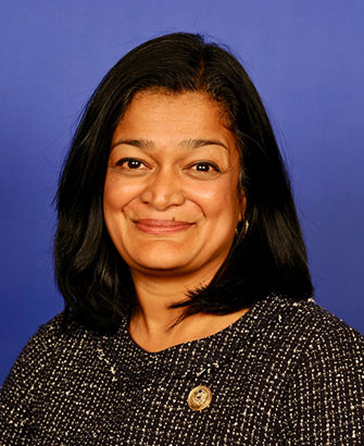 Photo of Pramila Jayapal